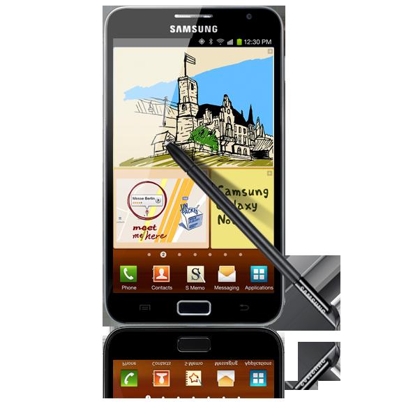 Samasung Galaxy Note with pen