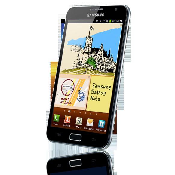 Samasung Galaxy Note Front