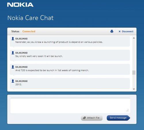 Nokia Chat - Lumia 720