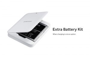 Extra Battery Kit for Samsung Galaxy S4