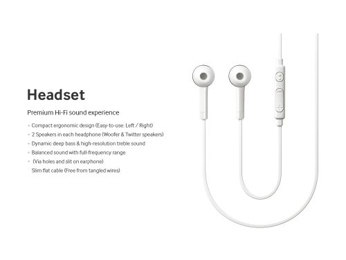 Headset Dedicated for Samsung Galaxy S4