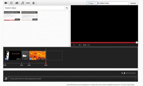 Youtube advanced photo slideshow editor