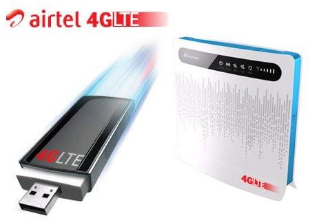 Airtel 4G LTE India