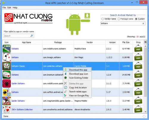 Search Apps - APK Leecher
