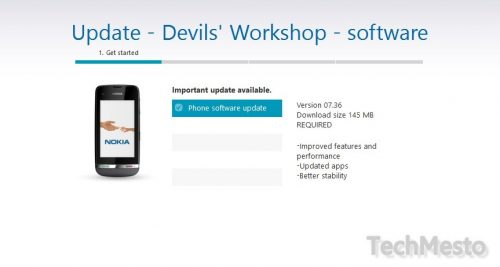 asha 311 update 7.36 available