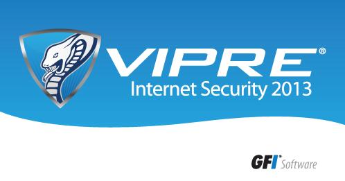 vipre internet security logo splash