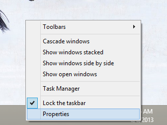 windows 8.1 taskbar