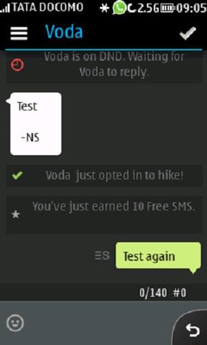 hike sms