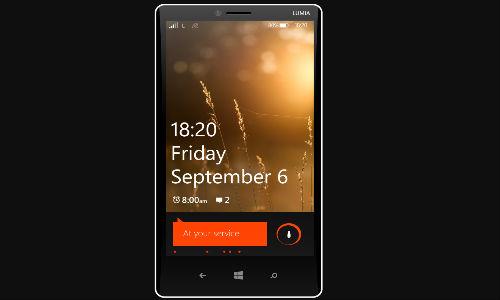 Lumia 1820 without Nokia branding