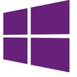 windows phone logo purple