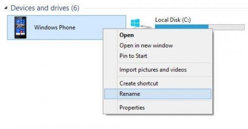 rename windows phone