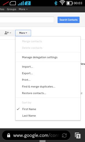 Google transferable stock options