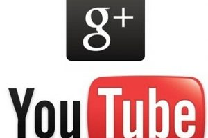 YouTube Google Plus logo