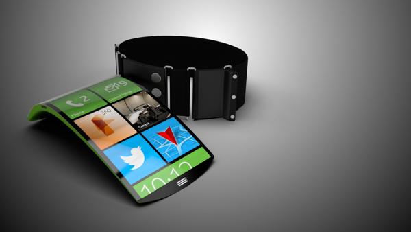 flexible smartphone wearable