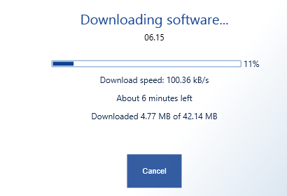 Recovery Tool - Downloading Firmware