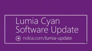 Lumia Cyan