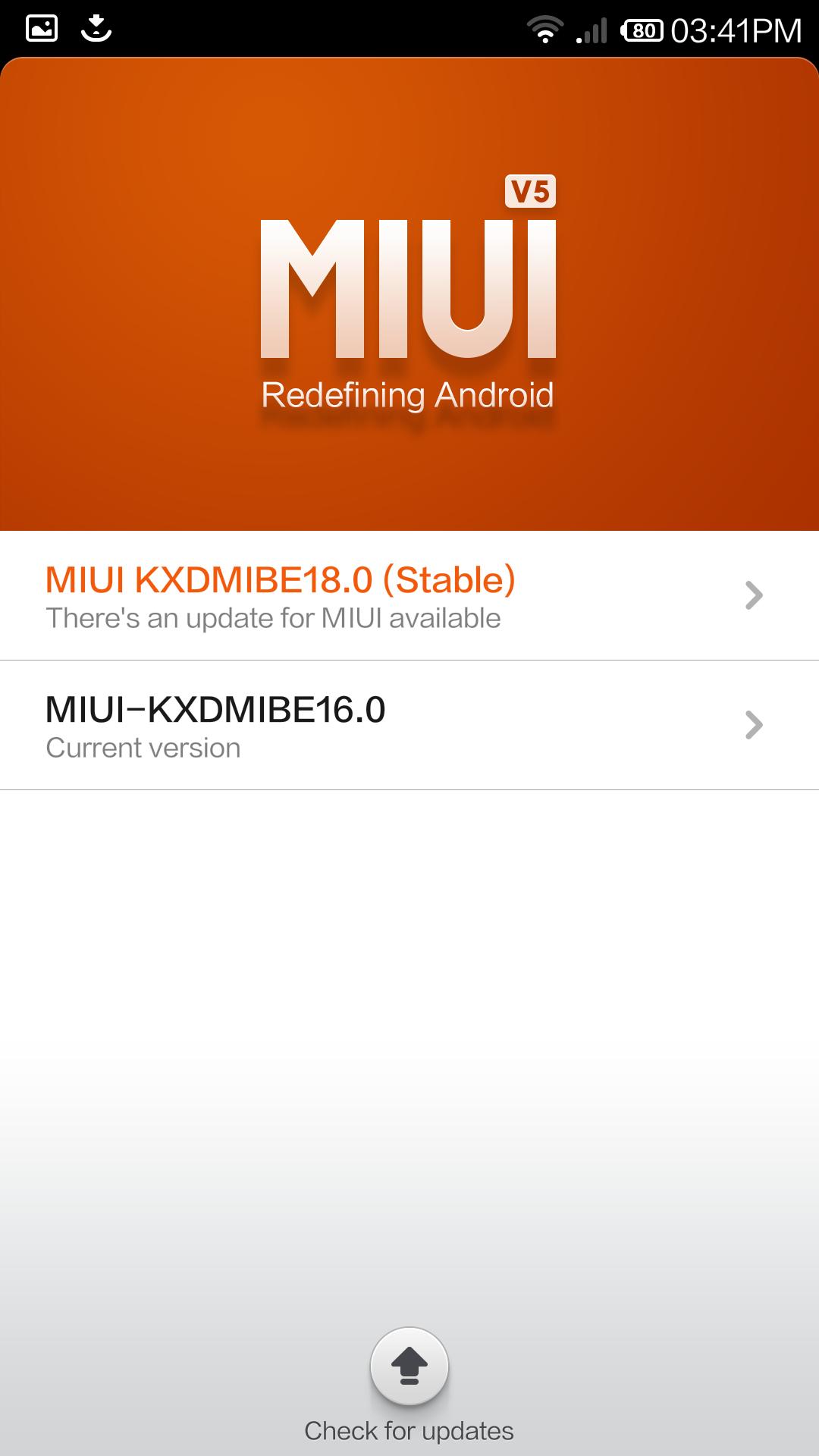 miui update for mi3