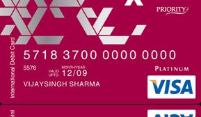 axis priority debit card