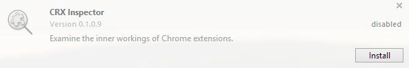 install extension opera