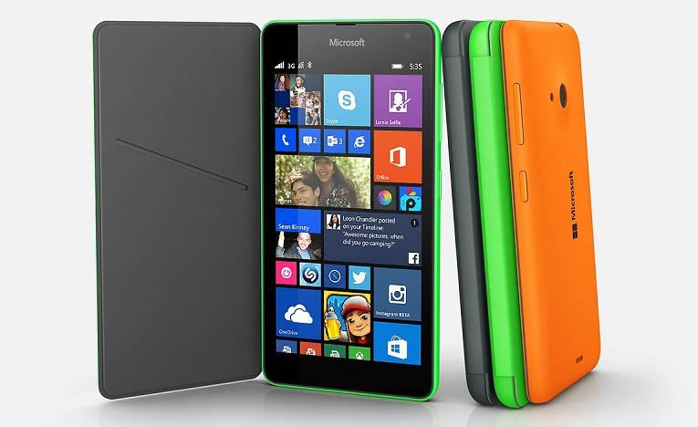 Microsoft Lumia 535 Press Render 2
