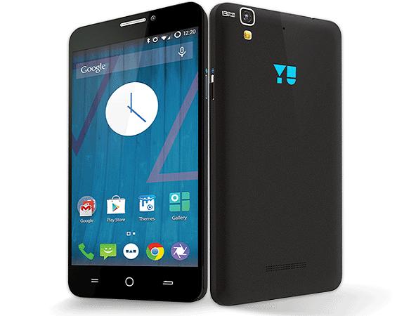 Yureka Smartphone - Front & Rear