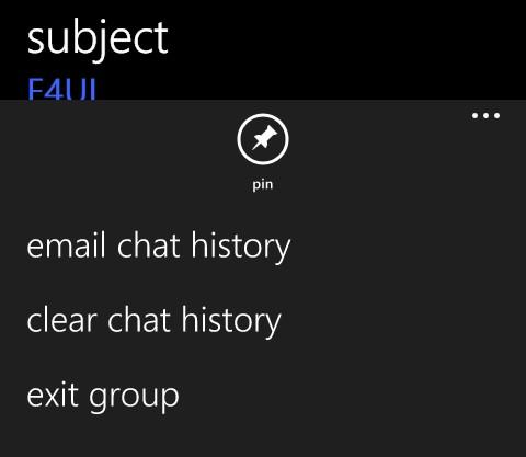 WhatsApp group info WP