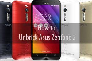 Unbrick Zenfone 2