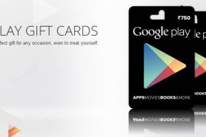 Play Gift cards India