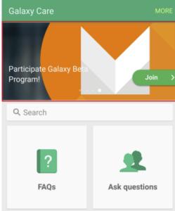 Galaxy Care application