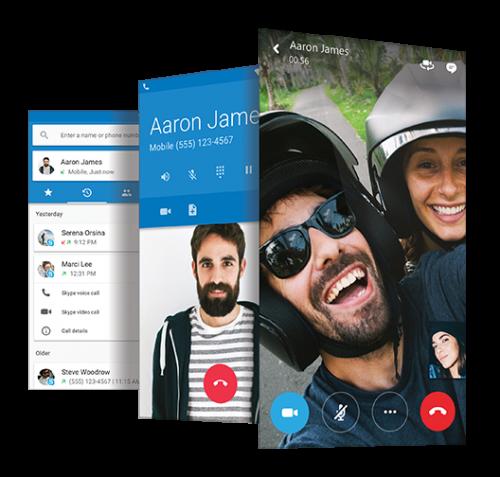 CyanogenOS 13.1_Skype