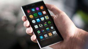 Sailfish OS on Jolla Phone