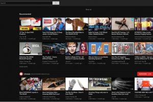 YouTube Dark Theme