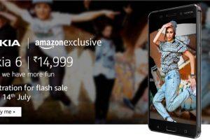 Nokia 6 Amazon Exclusive Flash Sale