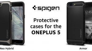 Spigen Cases for OnePlus 5 - Neo Hybrid, Armor, Ultra Hybrid