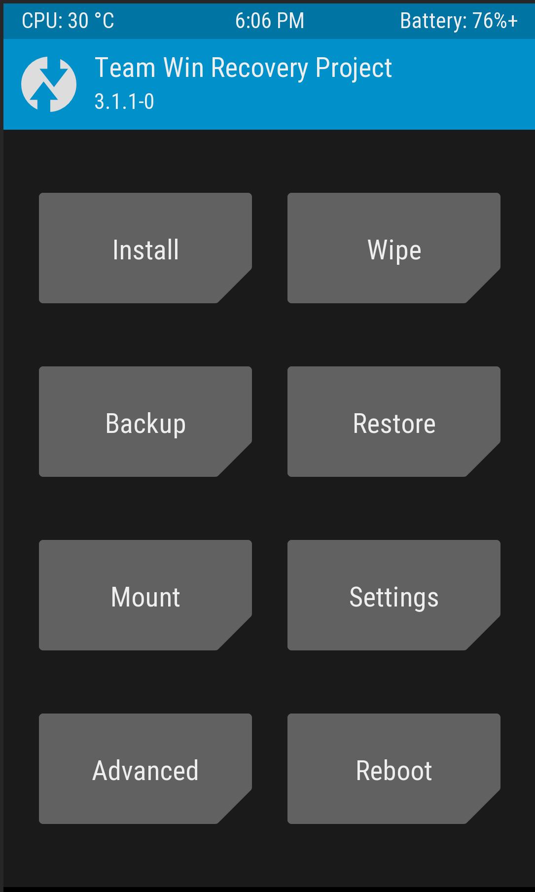 TWRP OnePlus 5