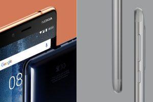 Nokia 8 front back sides